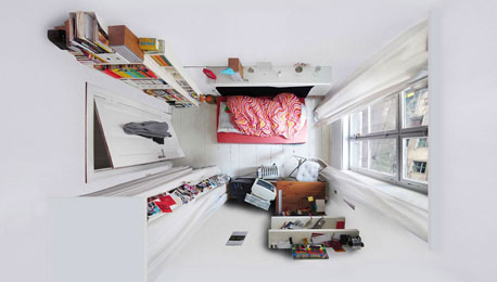 Menno Aden, Photo Artist Looking Down Upon People's Living Spaces