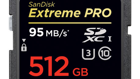 Half a Terabyte Storage — SanDisk Announces World's Mightiest SD Card
