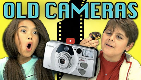 Wanna Feel Ancient? See Kids React to a Film Camera
