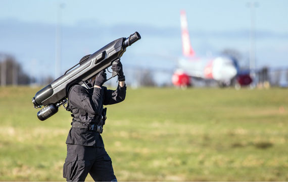 Drone Videographers Watch Out, Here's a Bazooka to Take You Down